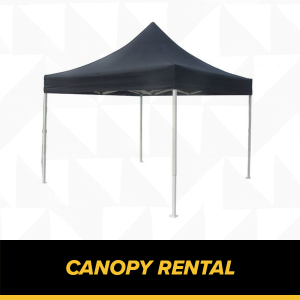 Canopy rental for KL Cup